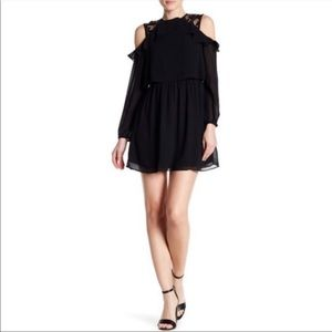 Want & Need by Nordstrom Cold Shoulder Mini Dress